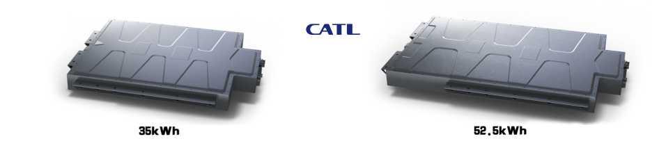 batería catl vehículo eléctrico