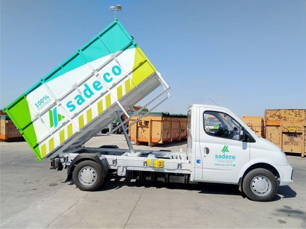 vehículos eléctricos carrozados para recogida de basuras