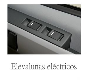 cristales eléctricos en una furgoneta maxus