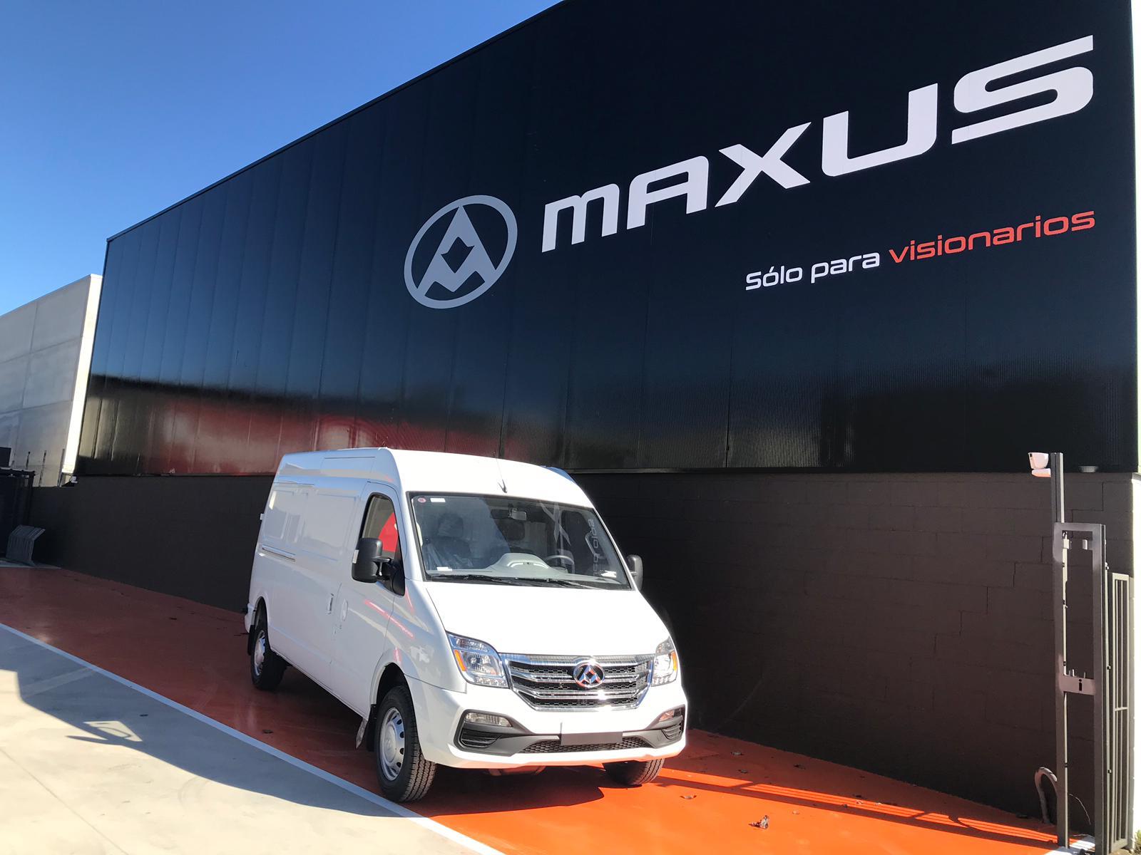 concessionari de furgonetes Maxus