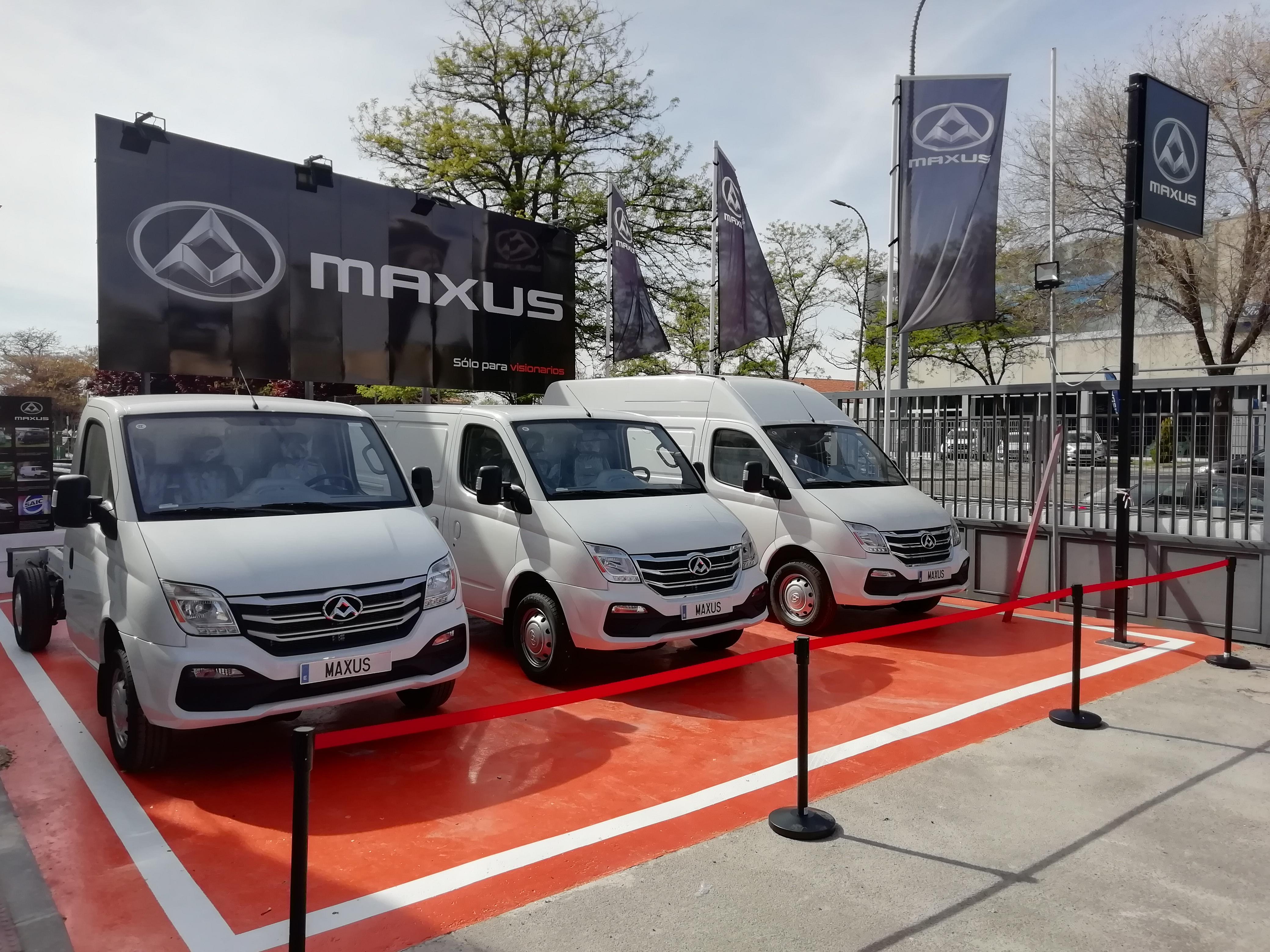 concesionario de furgonetas Maxus