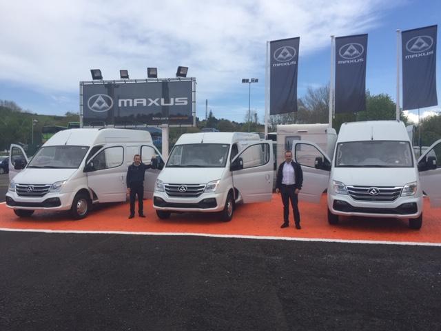 concesionarios de furgonetas Maxus
