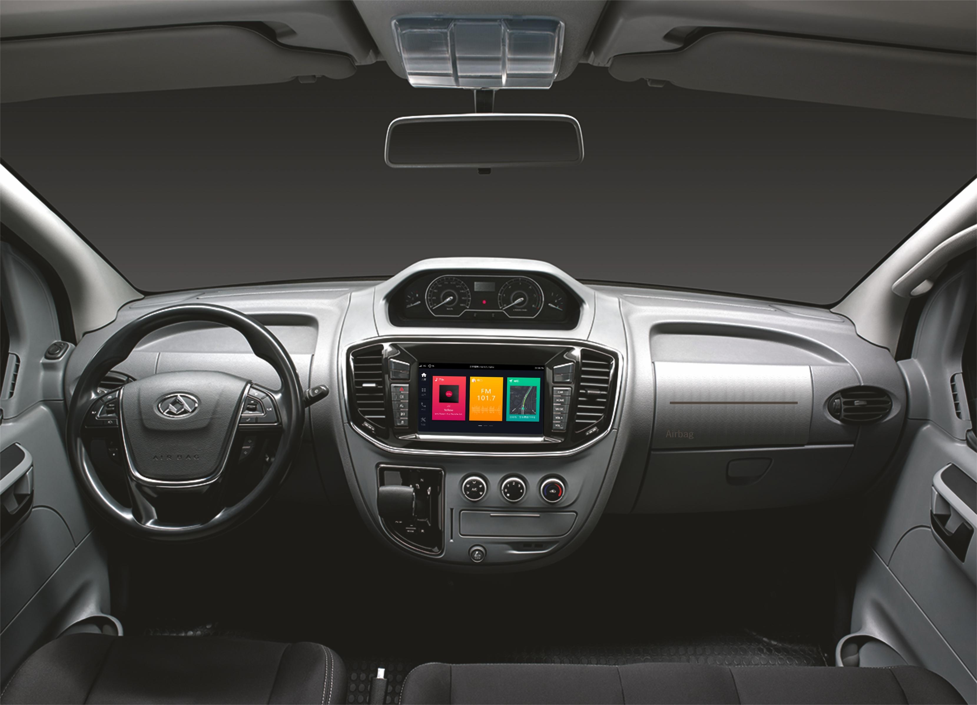 interior Maxus EV80 furgoneta eléctrica