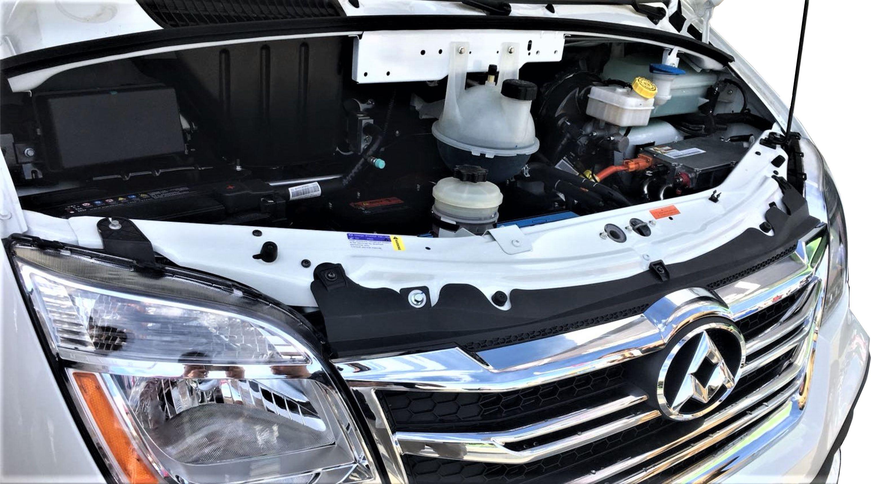 MOTOR ELÉCTRICO DE UN VEHÍCULO MAXUS EV80