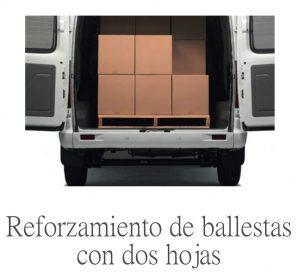 furgoneta para mudanzas que pueda cargar mucho peso