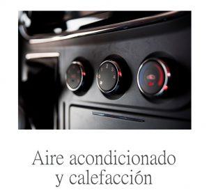 aire acondicionado de serie en furgoneta eléctrica maxus ev80
