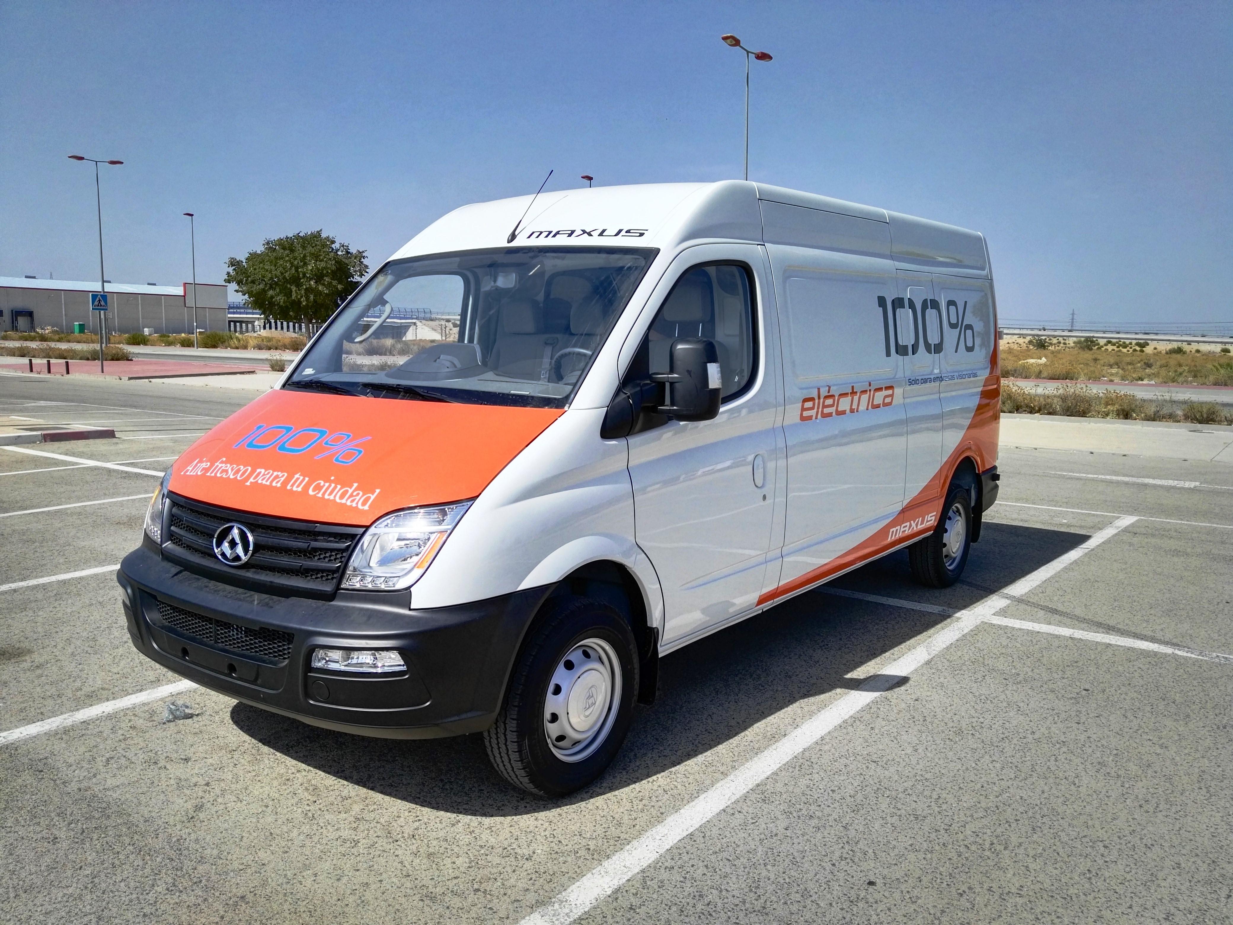 furgoneta electrica con autonomía real