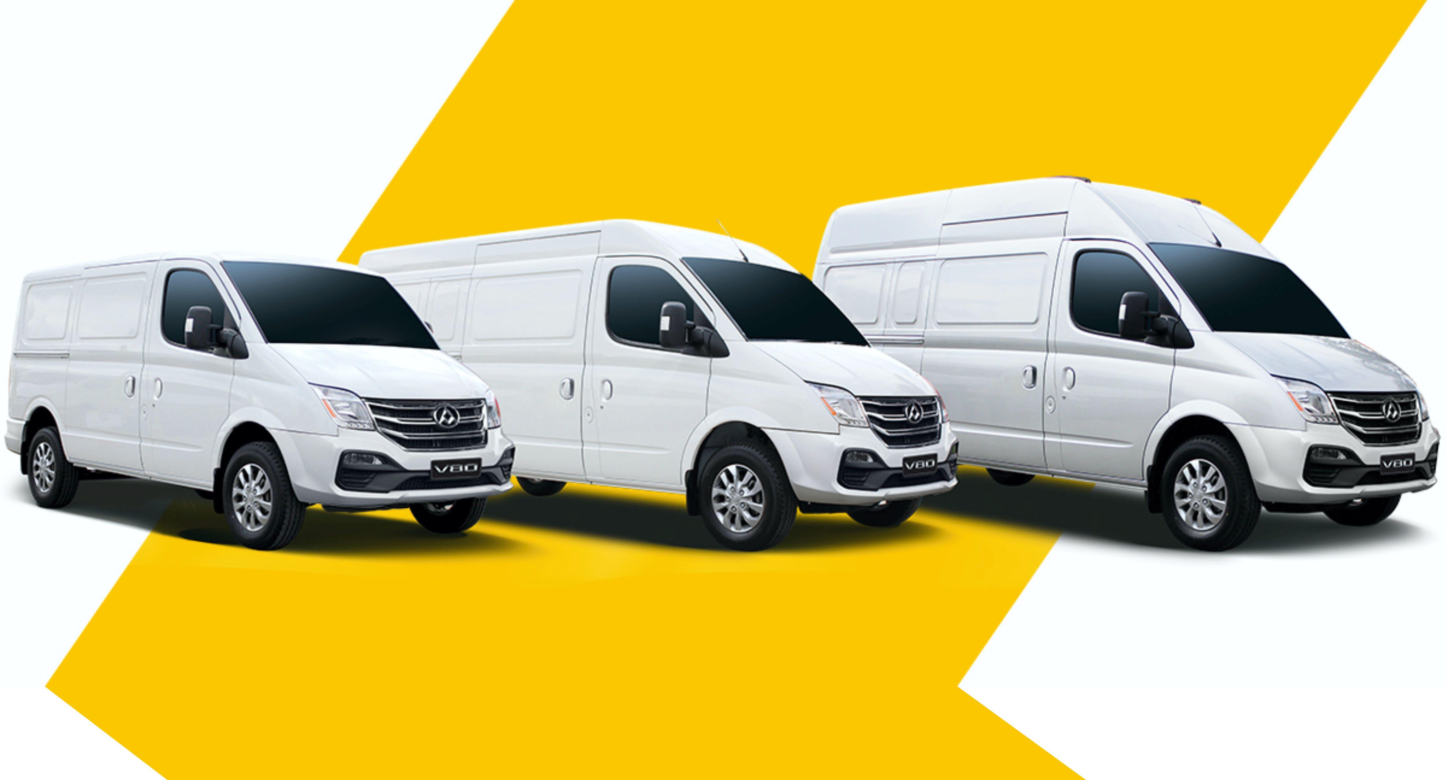 modelos de furgonetas maxus v80
