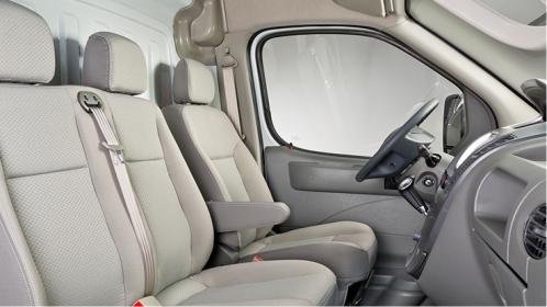 interior de furgoneta