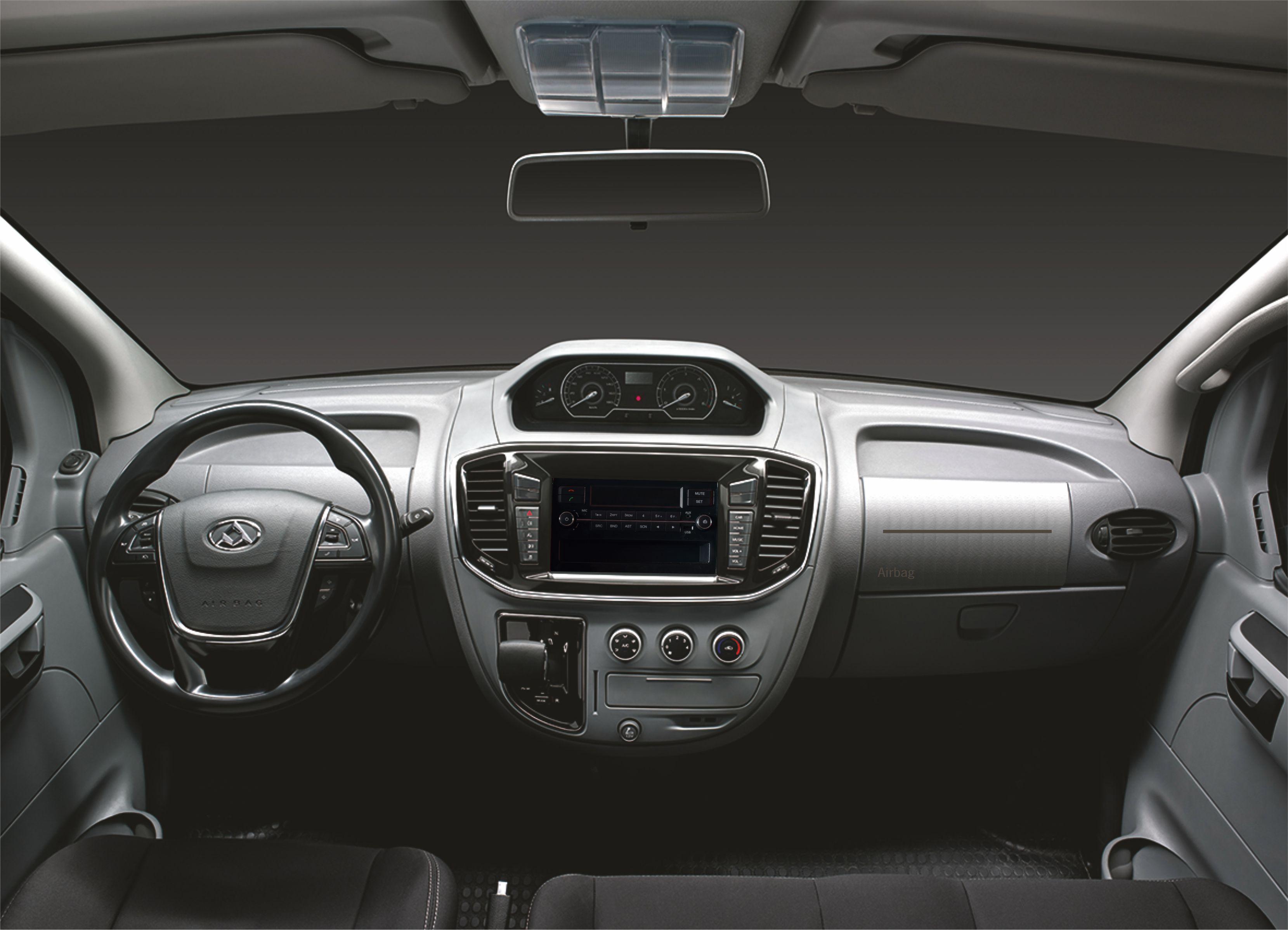 chasis cabina cómodo interior de un chasis cabina eléctrico maxus ev80