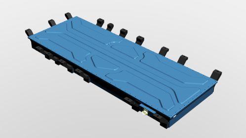 la batería más potente del mercado en vehículo industrial