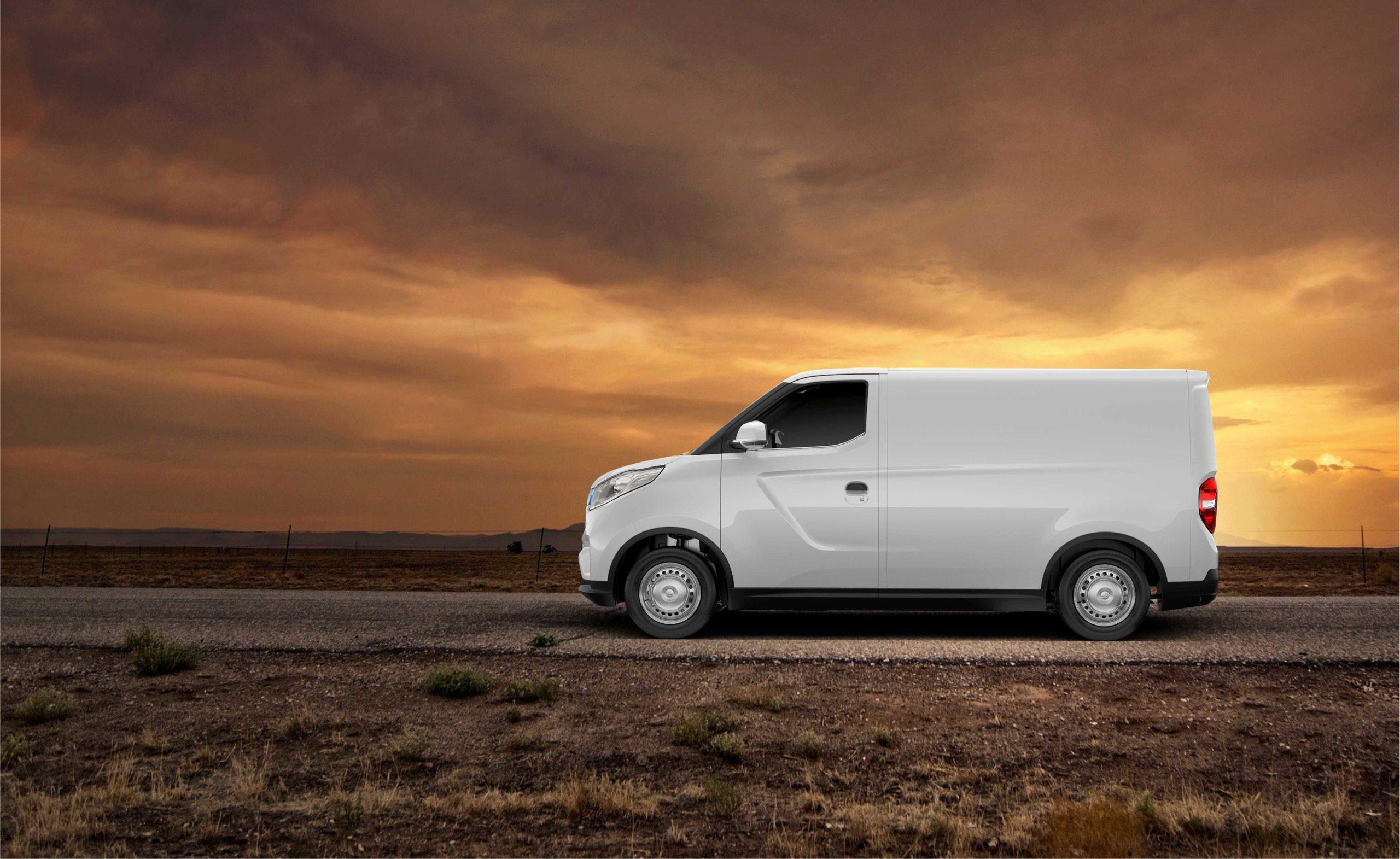furgoneta eléctrica gran autonomía