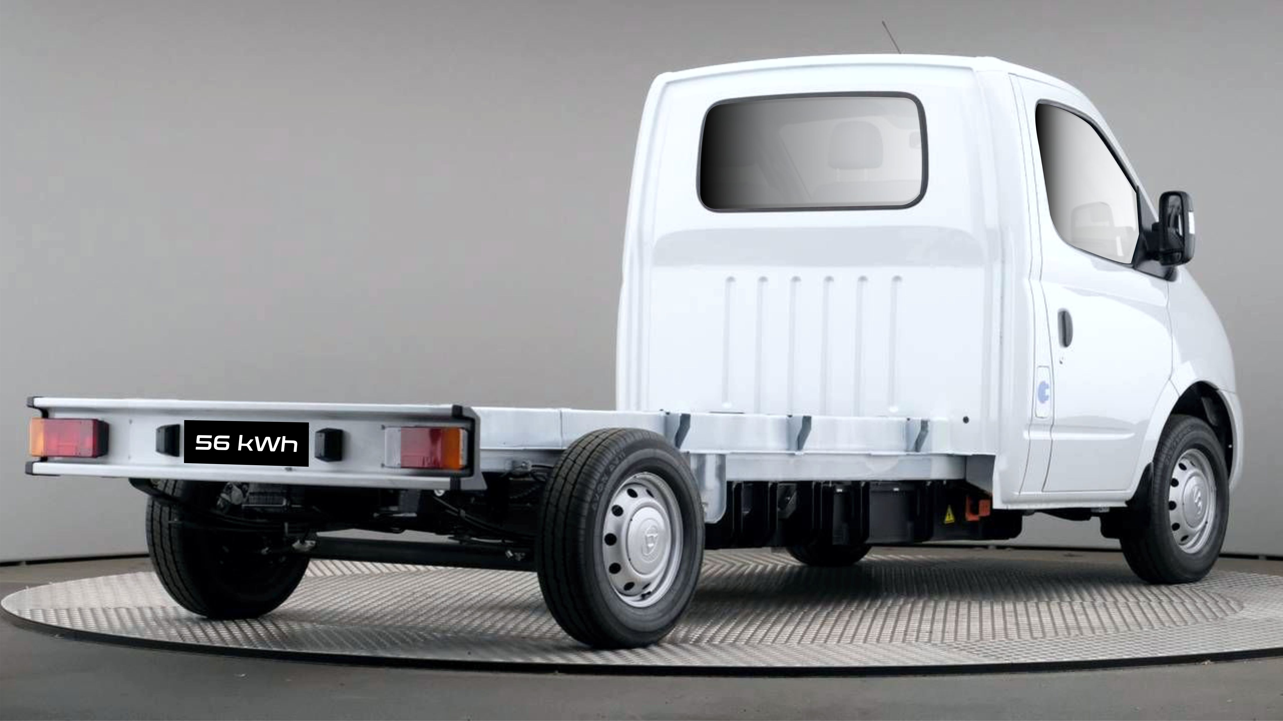 camión eléctrico Maxus EV80 camioncillo eléctrico