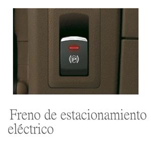 freno de estacionamiento eléctrico en la furgoneta maxus ev80 100% eléctrica